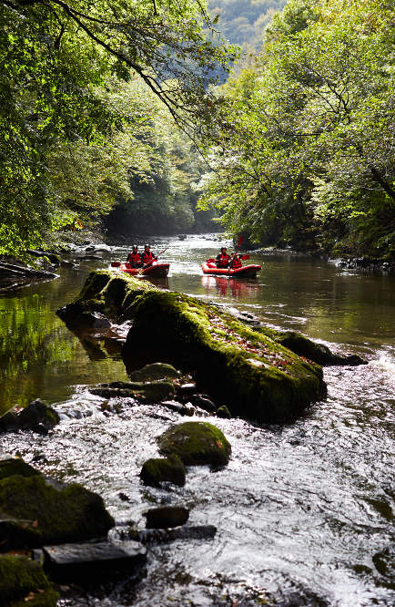 Rafting Dordogne